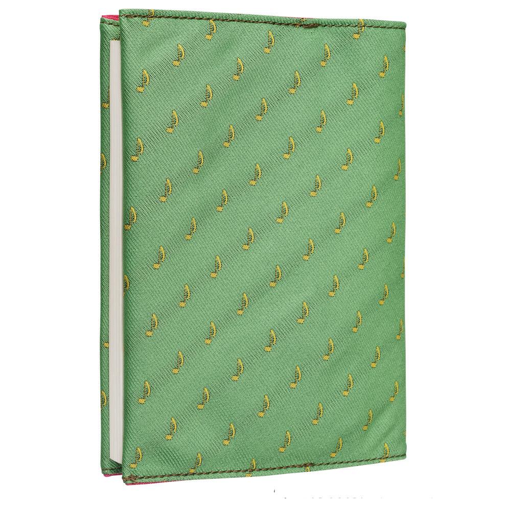 クラバットブックカバーEX(全12色) 8Nグラスグリーン