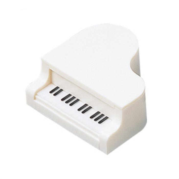 ミニピアノ鉛筆削り(全2種) ホワイト