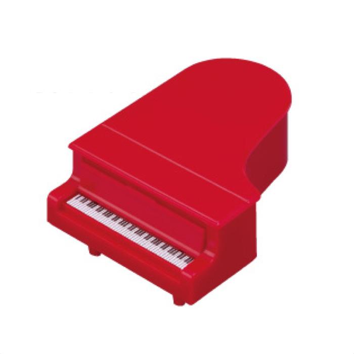 コンサートピアノ鉛筆削り(全2種) レッド