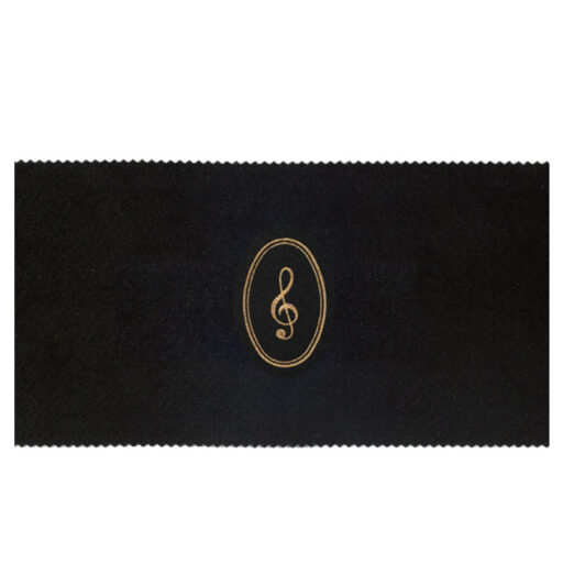ピアノキーカバー(全4種) ト音記号 / ブラック