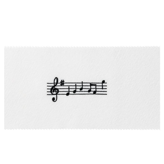 ピアノキーカバー(全4種) 音符 / ブラック
