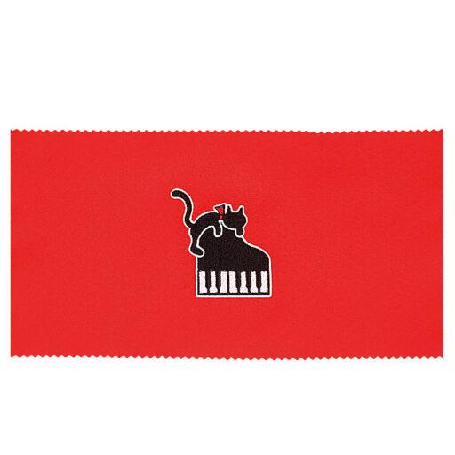 ピアノキーカバー(全4種) ネコとケンバン / レッド