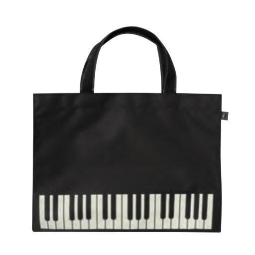 レッスンバッグ オブロング(全3種) 鍵盤/ブラック