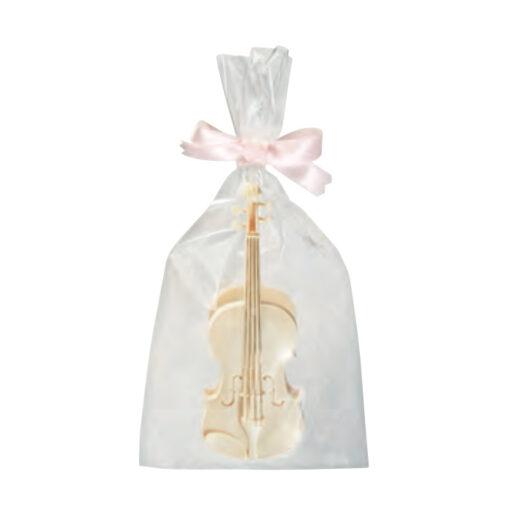 リボン バイオリンクリップ(ボールペン付き)(全2種) アイボリー