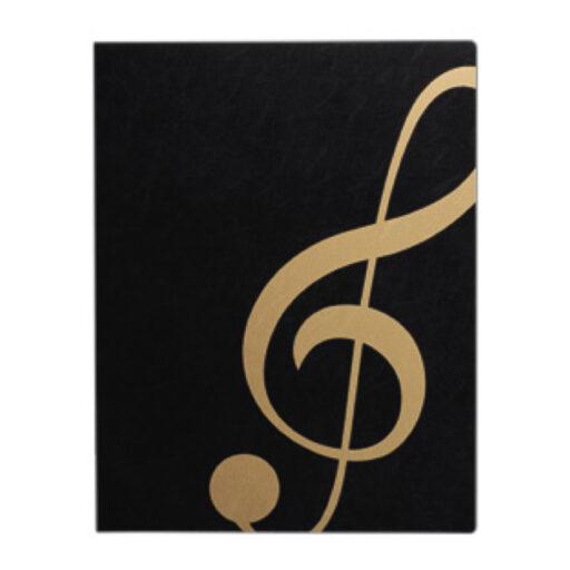 ミュージック レッスンファイル(全6種) ト音記号/ブラックゴールド