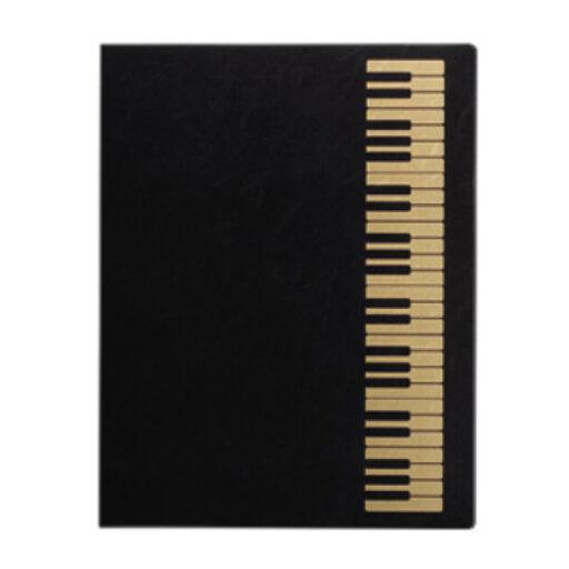 ミュージック レッスンファイル(全6種) 鍵盤/ブラックゴールド
