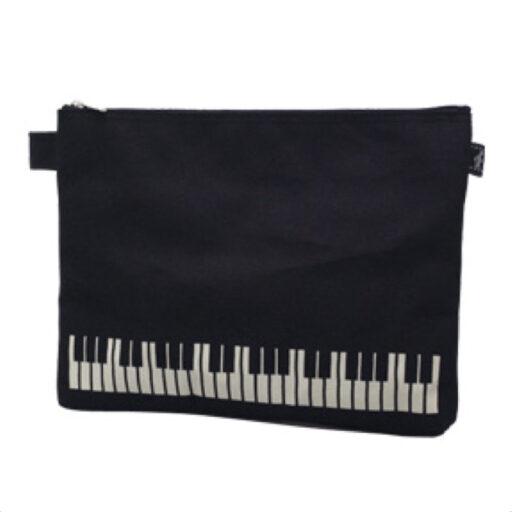 ポケットポーチ(全2種) 鍵盤/ブラック