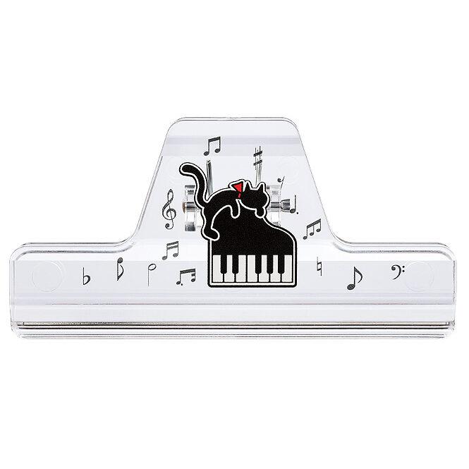MUSICブッククリップ(全4種) ネコとピアノ