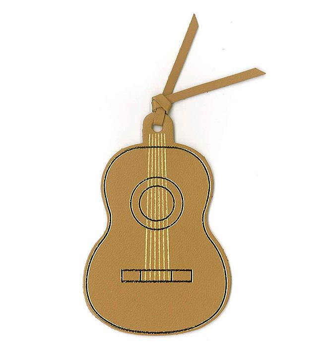 レザーブックマーク(全4種) クラシックギター/ベージュ