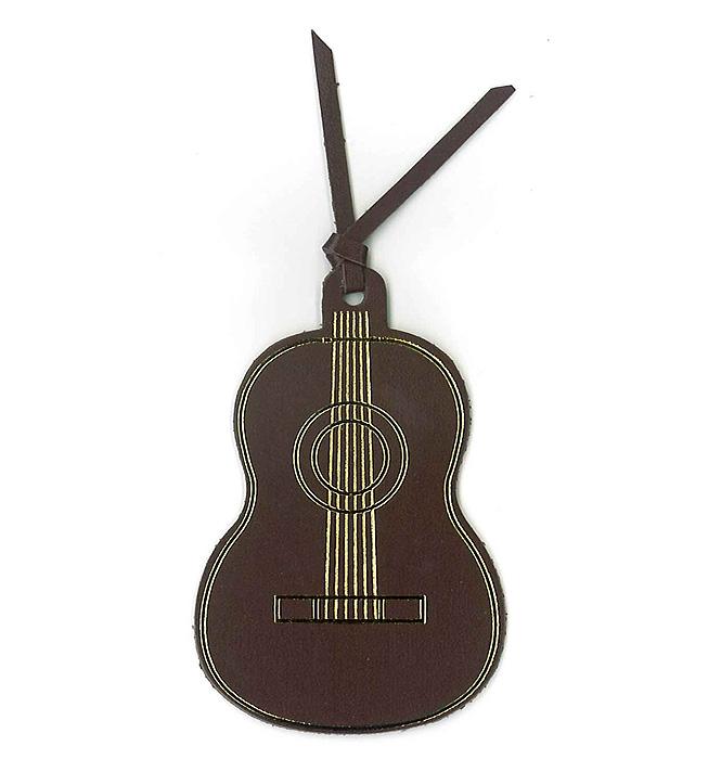 レザーブックマーク(全4種) クラシックギター/ダークブラウン