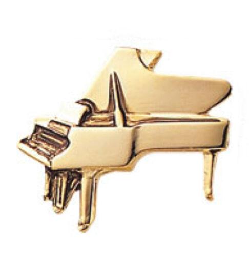 スタンダードブローチ(全50種) ピアノ/ゴールド