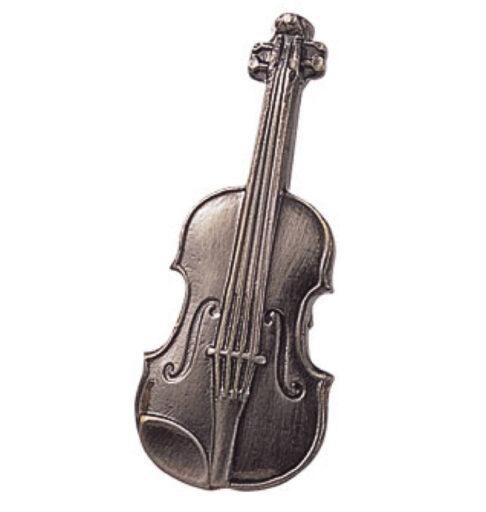スタンダードブローチ(全50種) バイオリン/シルバー
