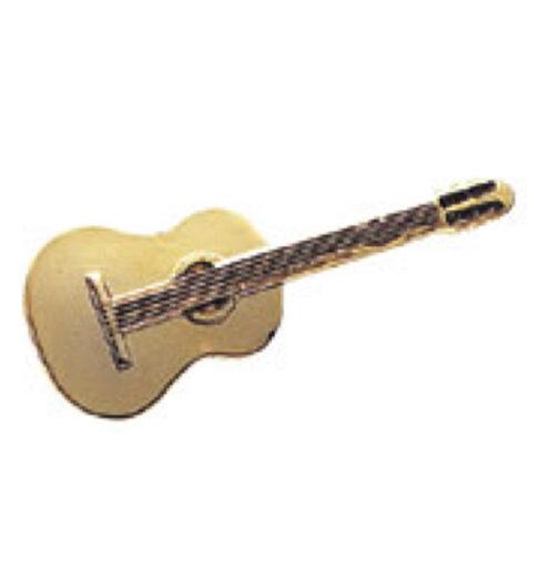 スタンダードブローチ(全50種) クラシックギター/ゴールド