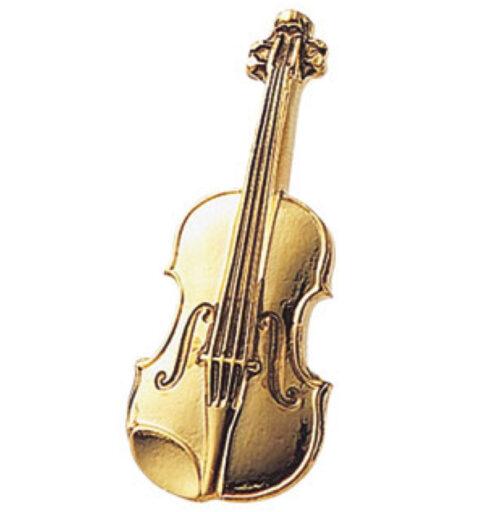 スタンダードブローチ(全50種) バイオリン/ゴールド