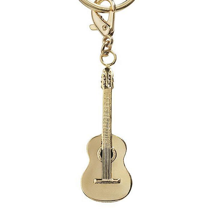 オールミュージックキーホルダー(全29種) クラシックギター/ゴールド