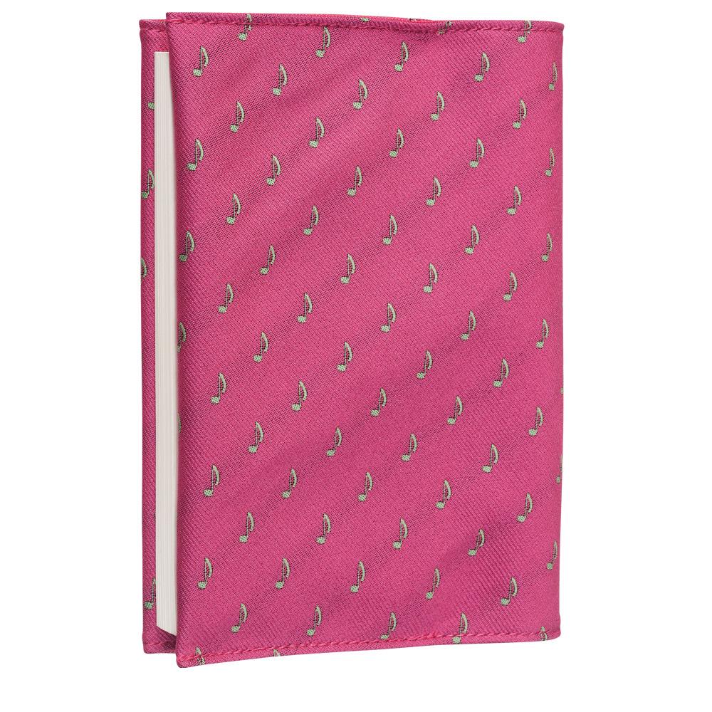 クラバットブックカバーEX(全12色) 8Nピンク