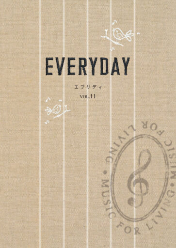 MUSIC FOR LIVING EVERYDAYカタログ