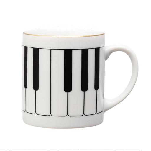 クラシカルマグカップ 鍵盤