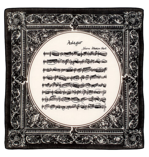 ハンカチーフ(全4種) アダージョ/ブラック