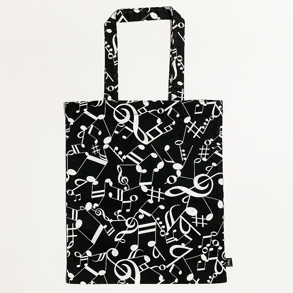 音楽包 手提袋(全3種) ブラック