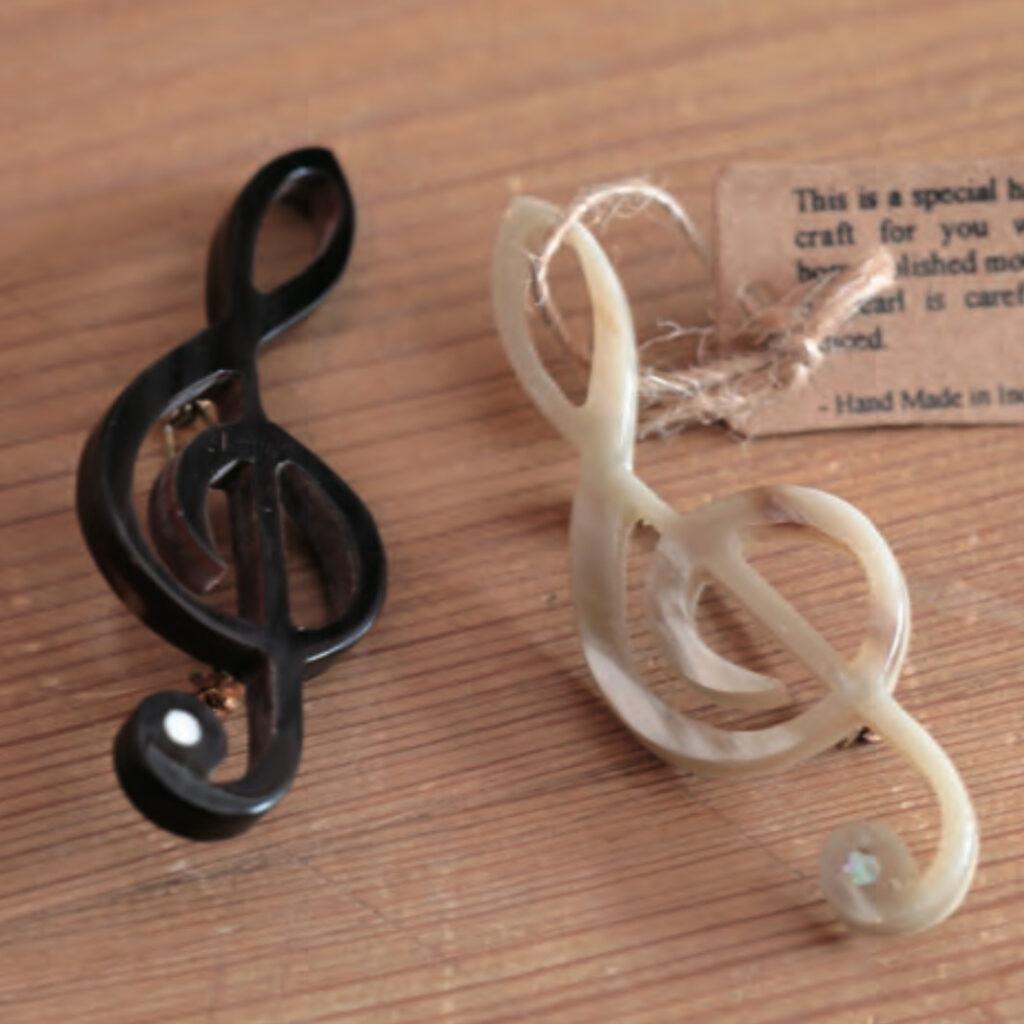 エンブロイダリー(刺繍)ブローチ(全6種)