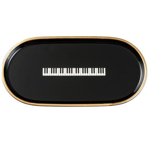 ティートレー L(鍵盤 / ブラック)
