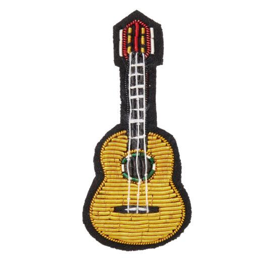 エンブロイダリー(刺繍)ブローチ(全6種) アコースティックギター