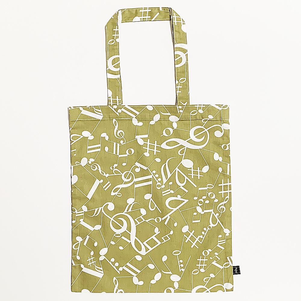 音楽包 手提袋(全3種) カーキ