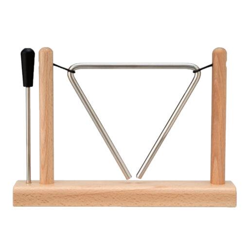 トライアングル 木製スタンド付き