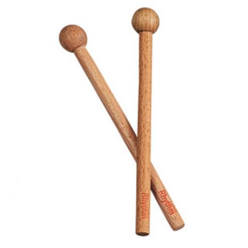 ドラムセット用 ウッドヘッドビーター 2本組み
