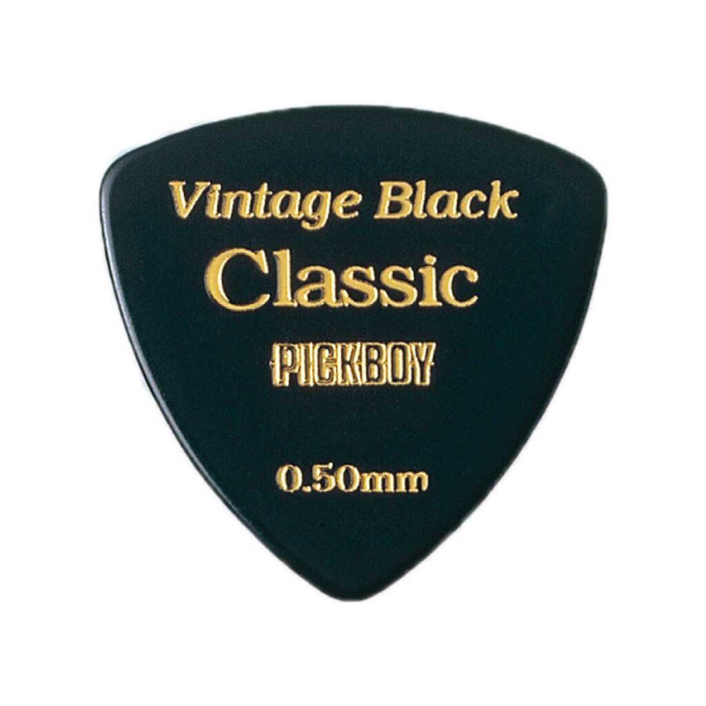 ビンテージクラシックピック ブラック 0.50mm
