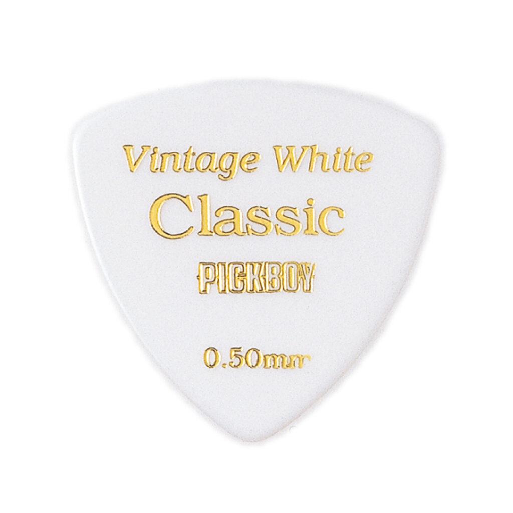 ビンテージ クラシックピック ホワイト 0.50mm