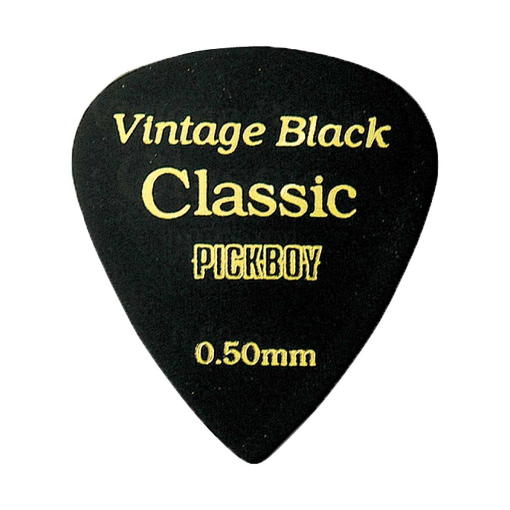 ビンテージ クラシックピック ブラック 0.50mm