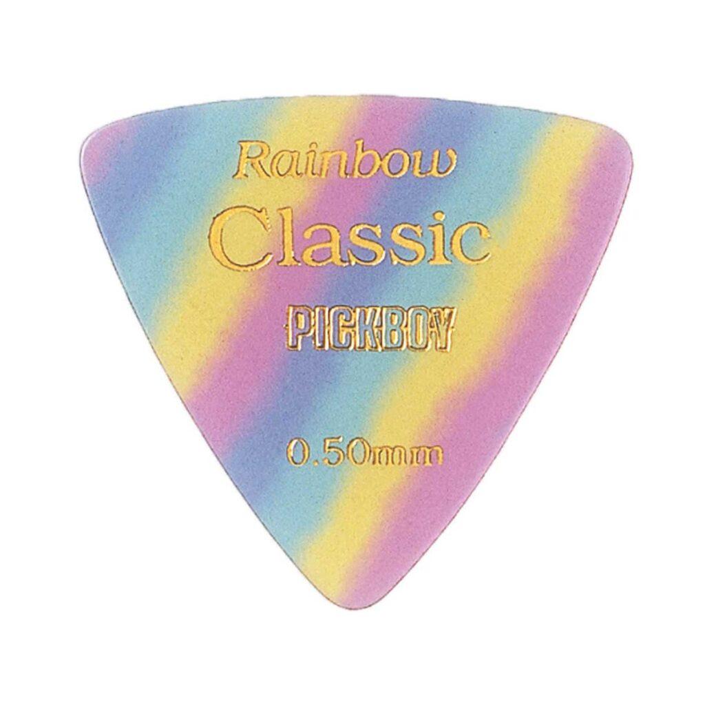 ビンテージ クラシックピック レインボー 0.50mm