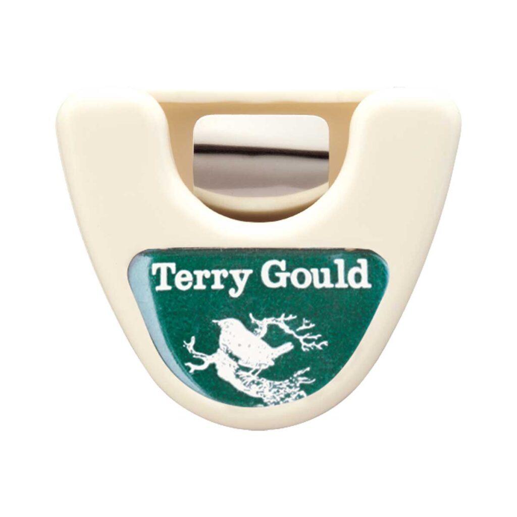 テリーゴールド トライアングル型ピックケース ホワイト