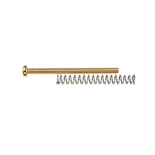 ベースブリッジ用  オクターブピッチ調整ネジ ゴールド